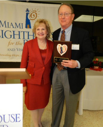 President & CEO Virginia Jacko and Honorary Board Director David B. McCrea.