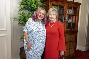 Norma Jean Abraham and President and CEO Virginia Jacko