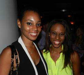 Erica Washington and Eva Williams from Women of Tomorrow