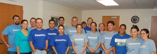 Deloitte Volunteers