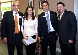Board Director Agustin Arellano Jr., Carey Kane, Rob Bowlby and Board Director Kent Benedict.