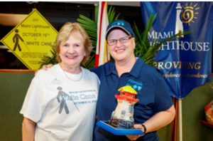 CEO Virginia Jacko and Penny Shaffer, Market President South Florida, Florida Blue