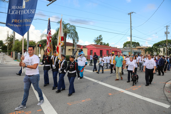 The White Cane Day Walk
